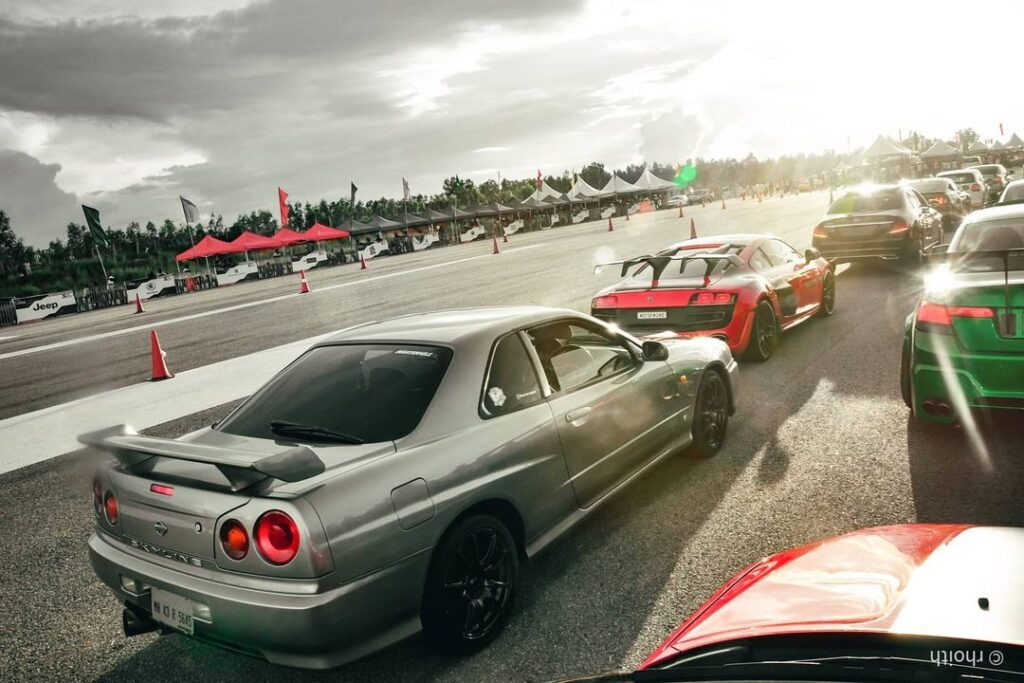 Modified Nissan Skyline GT-T in India