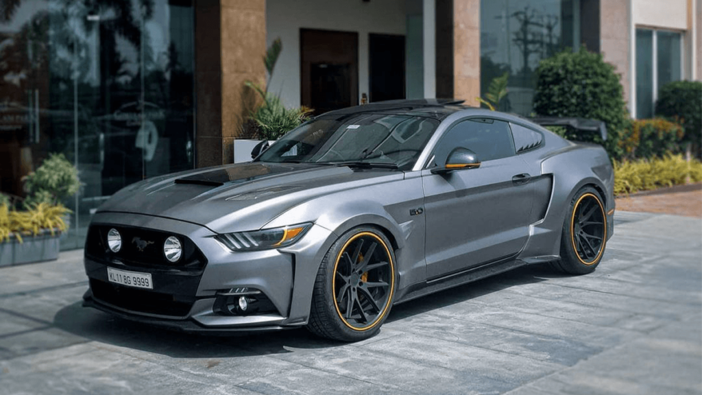 Modified Ford Mustang GT
