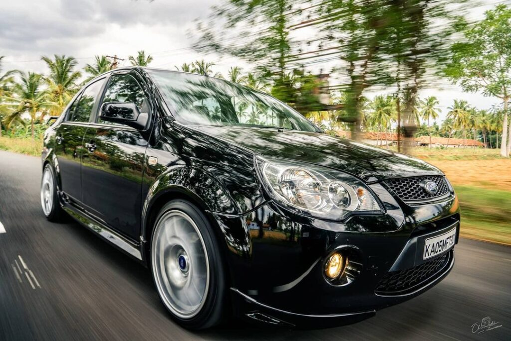 modified Ford Fiesta S