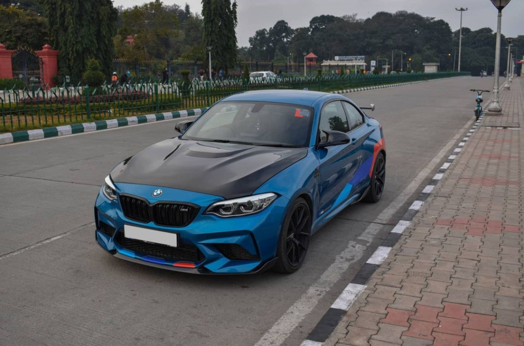 Check out is Modified BMW M2 Competition